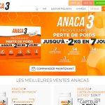 www.anaca3.com : commander les produits Anaca3 aisément
